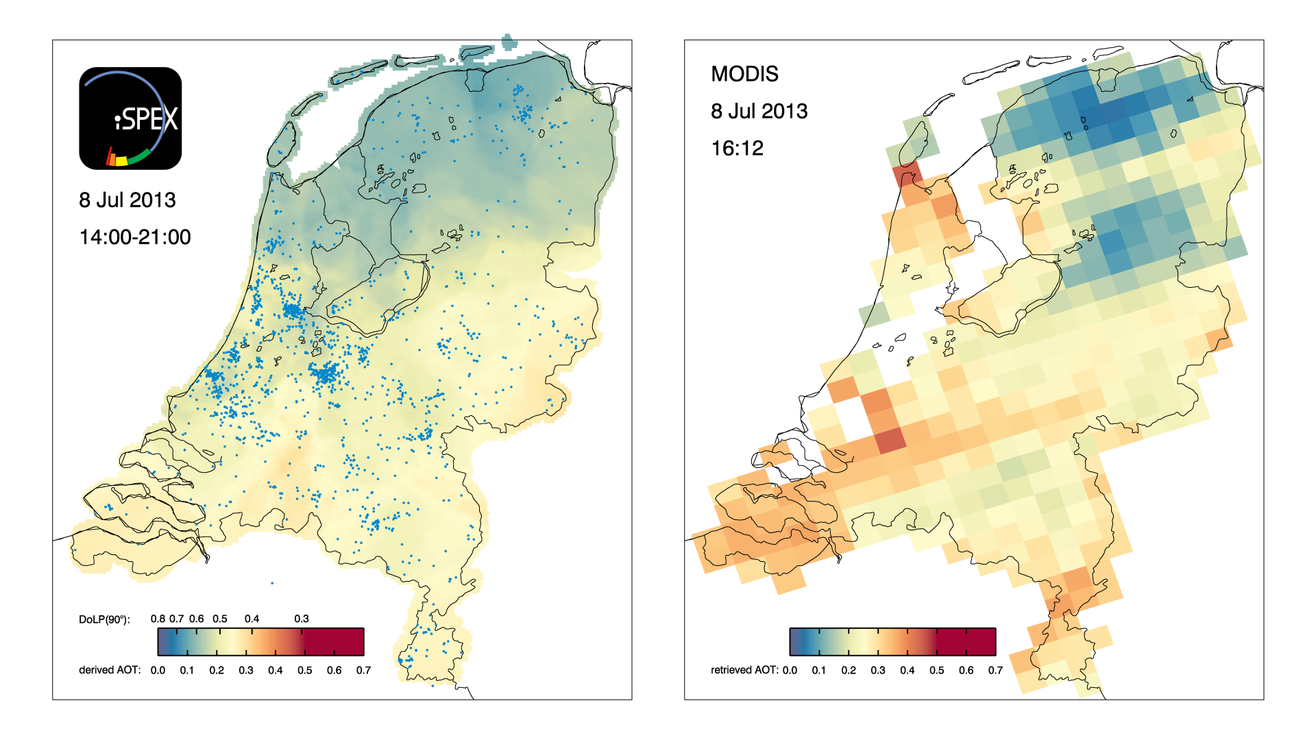 Dutch citizen science network produces accurate maps of atmospheric